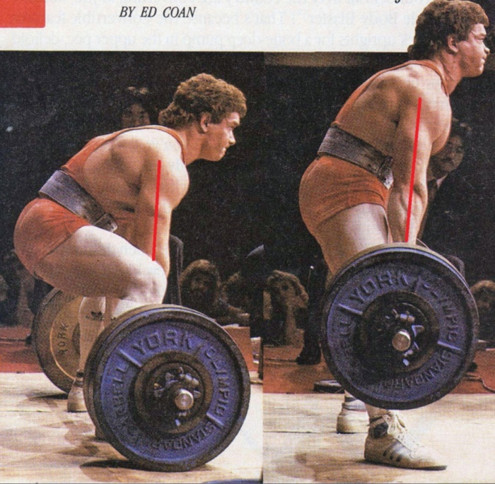Part I: OMG LOOK AT HIS BACK ROUNDING IN A DEADLIFT. Sowhat?