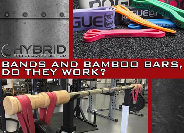 TRAINING TIP: BANDS and BAMBOO BARS- do they improve stability?