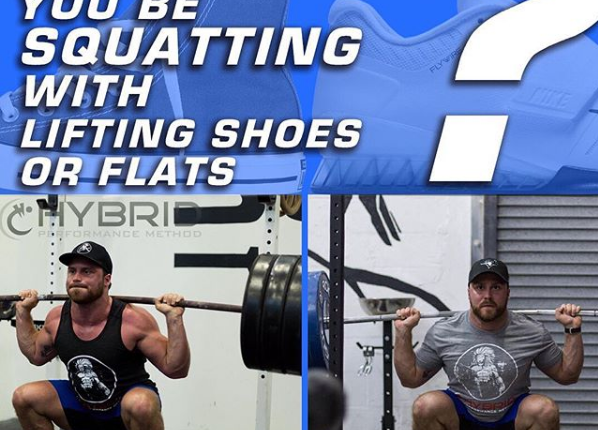 SHOULD YOU BE SQUATTING WITH LIFTING SHOES?
